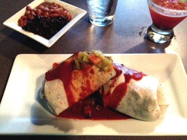 Black Zia Vegan Burrito