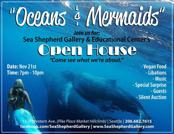 Oceans and Mermaids Sea Shepherd Event