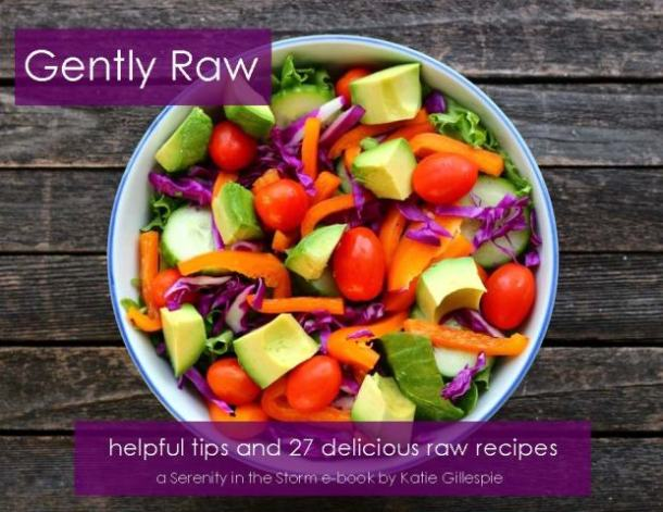 Gently Raw Cover with Salad