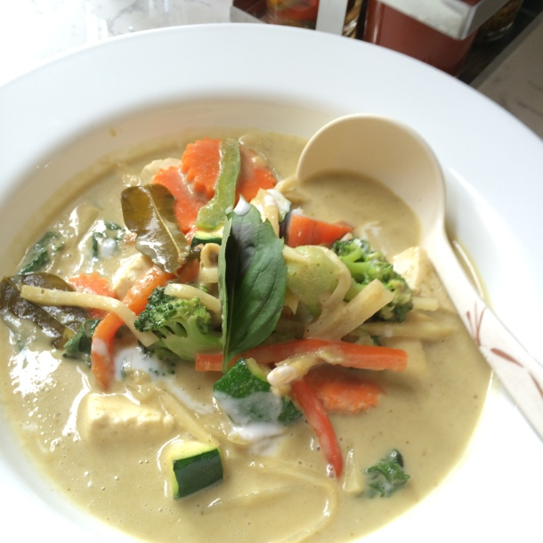 Green Curry with Soft Tofu