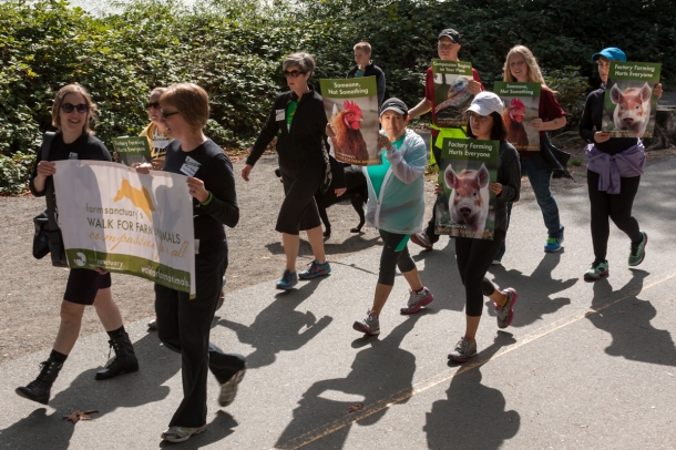 Participants in last year's walk