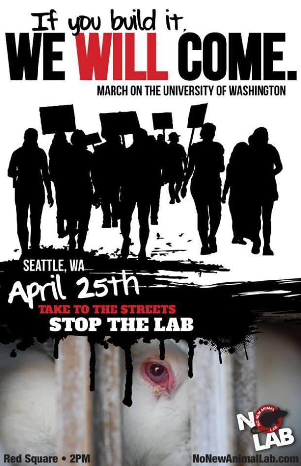 UW No New Animal Lab PosterUW No New Animal Lab Poster