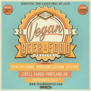Portland Vegan Beer And Food Festival Ticket Give Away