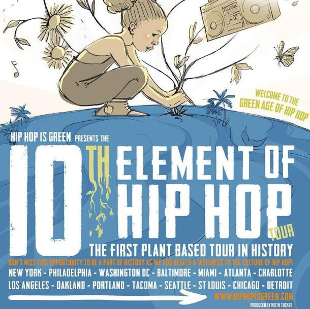 10th Element of Hip Hop Poster