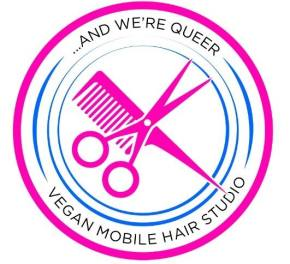 They're here! Vegan, queer, trans-friendly, mobile salon!