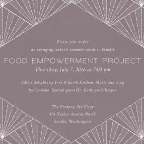 Food Empowerment Project inWashington